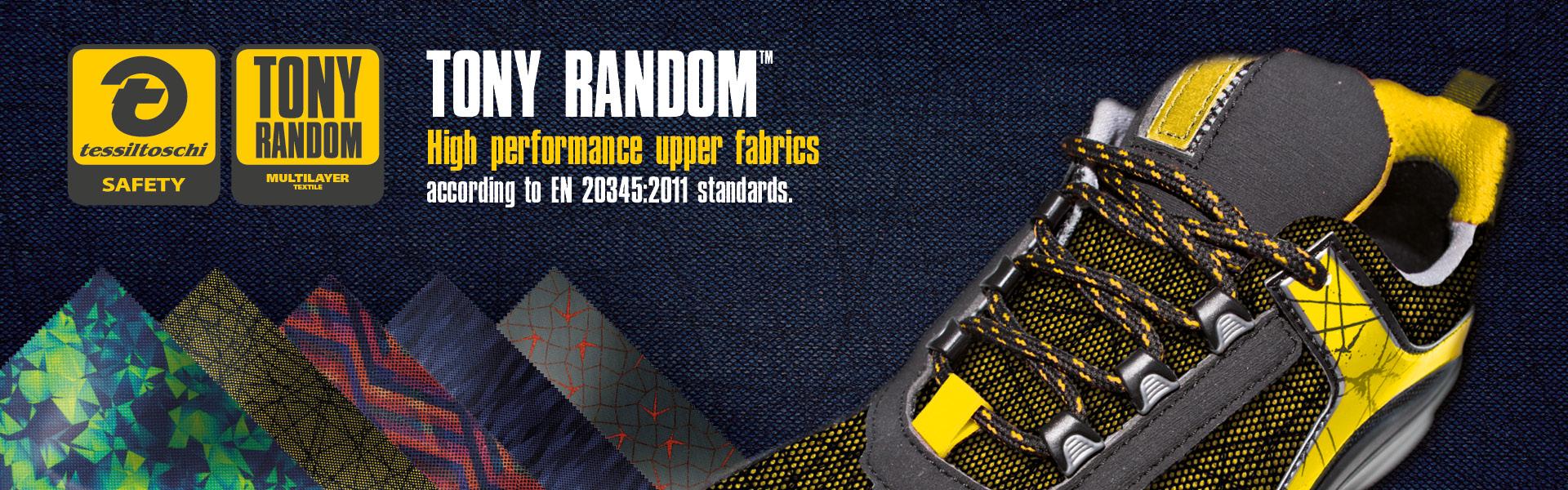 Tony Random fabric